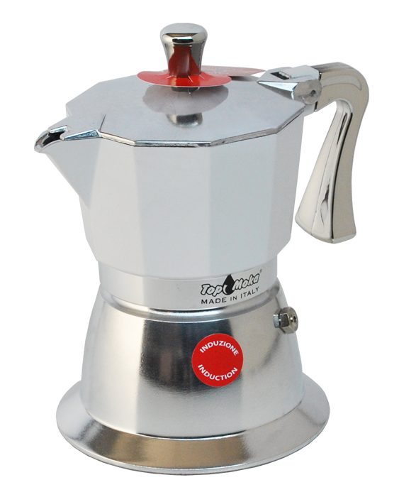 Induction friendly Mokas-Induction coffee makers-Aluminium Induction coffee machines-Induction ...