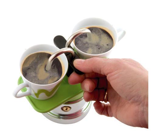 Mini Moka Coffee Maker 2 Cups