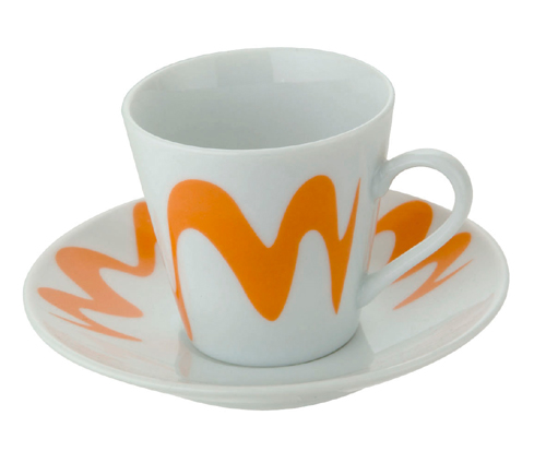 Gocciolina kleine Tasse orange